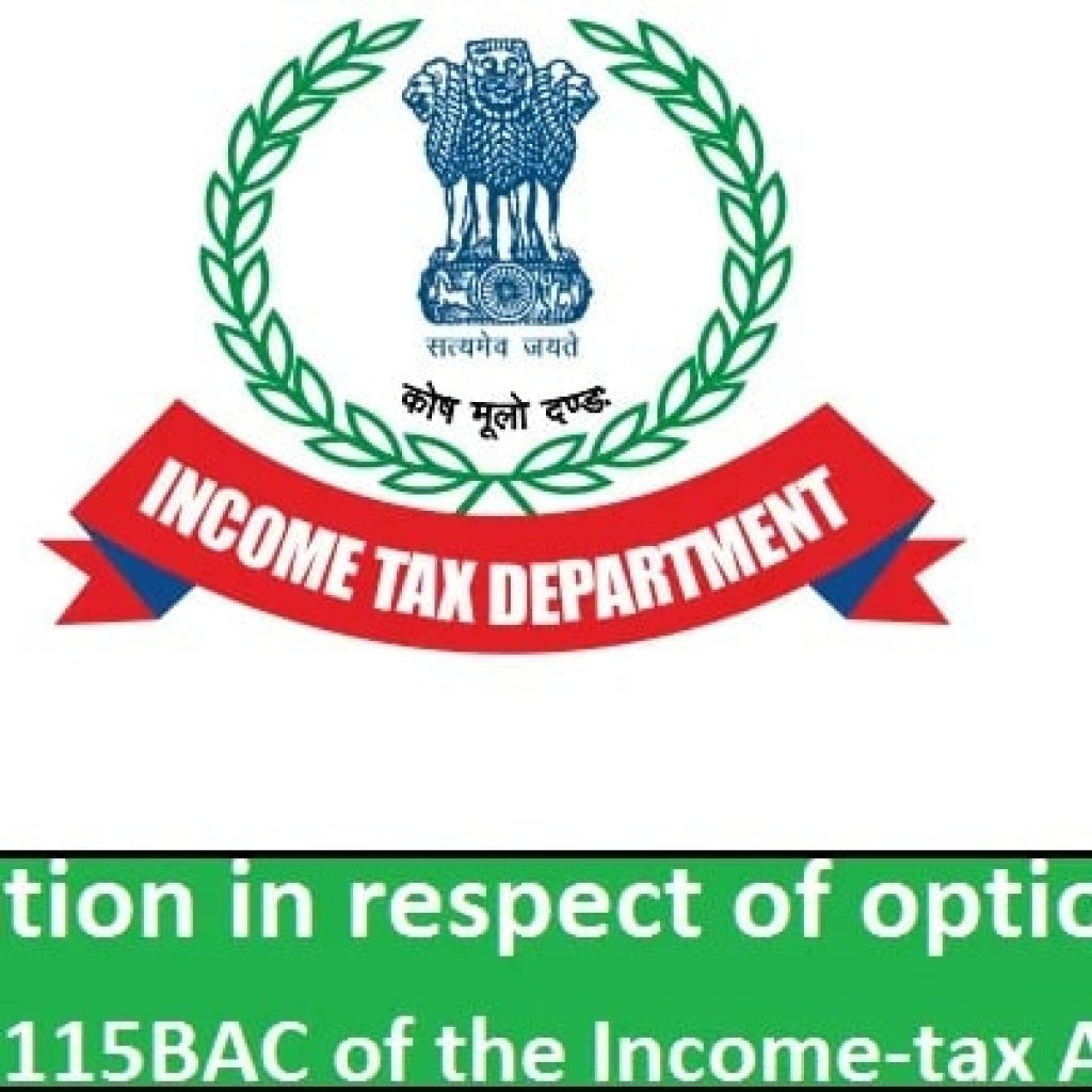 Income Tax Section 115BAC
